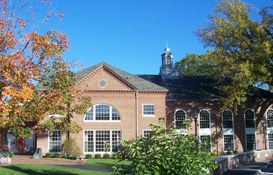 Photo is shot of library from the Hotchkiss School's website.