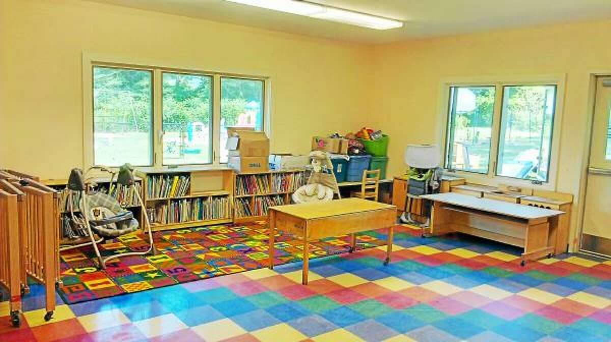 Submitted photo - Falls Village Day Care Center after being repainted in 2012.
