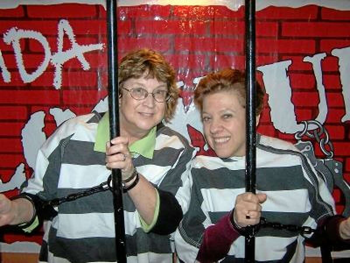 Submitted photo. MDA Jailbirds at previous Lock Ups.