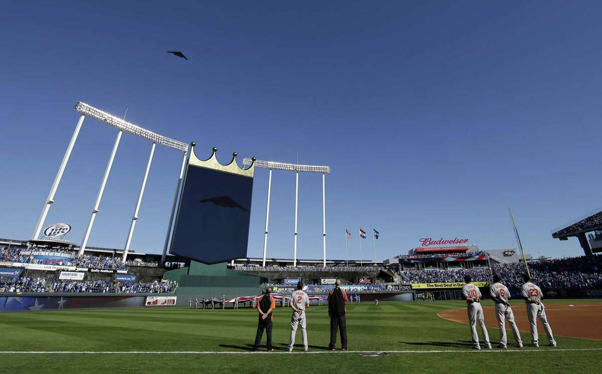 Kauffman Stadium will be the site for Game 6 of the World Series on Tuesday.