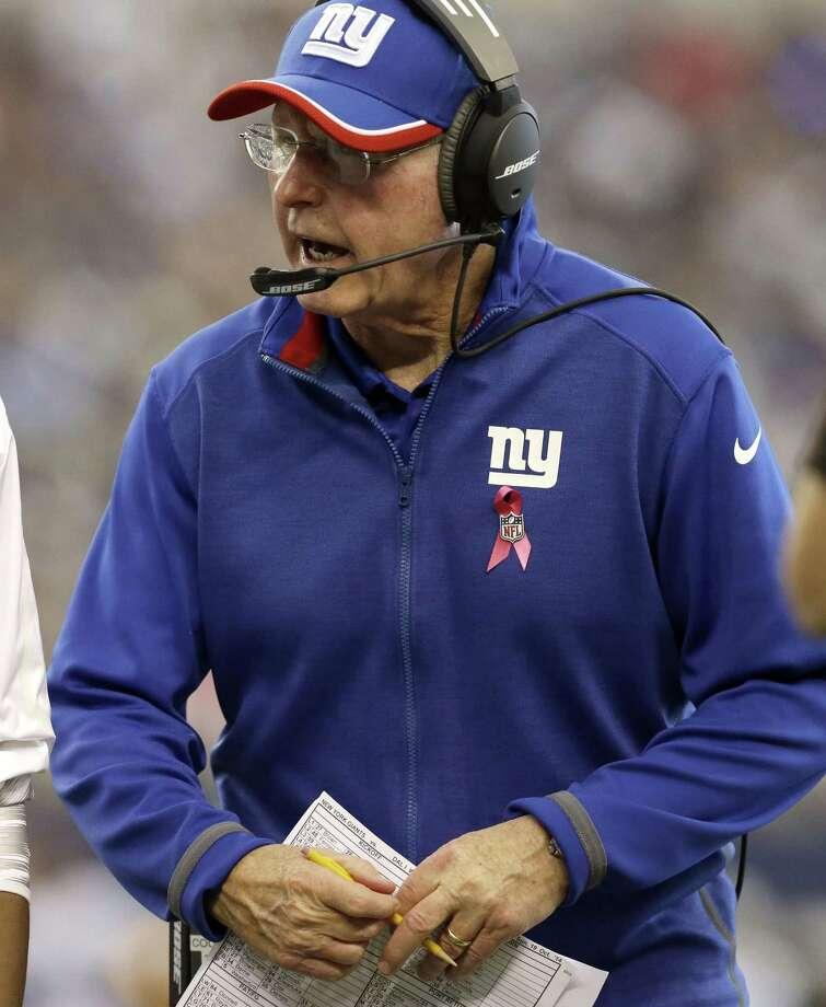 Giants head coach Tom Coughlin. Photo: LM Otero — The Associated Press  / AP
