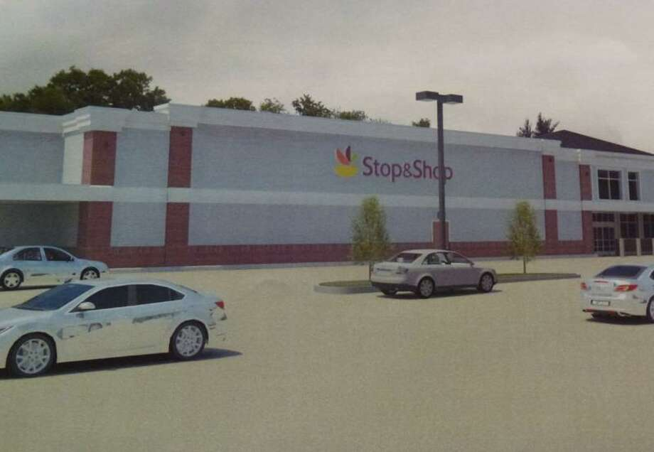 A rendering of what the proposed store would look like, submitted by Stop & Shop to the zoning office. (Ryan Flynn - Register Citizen)