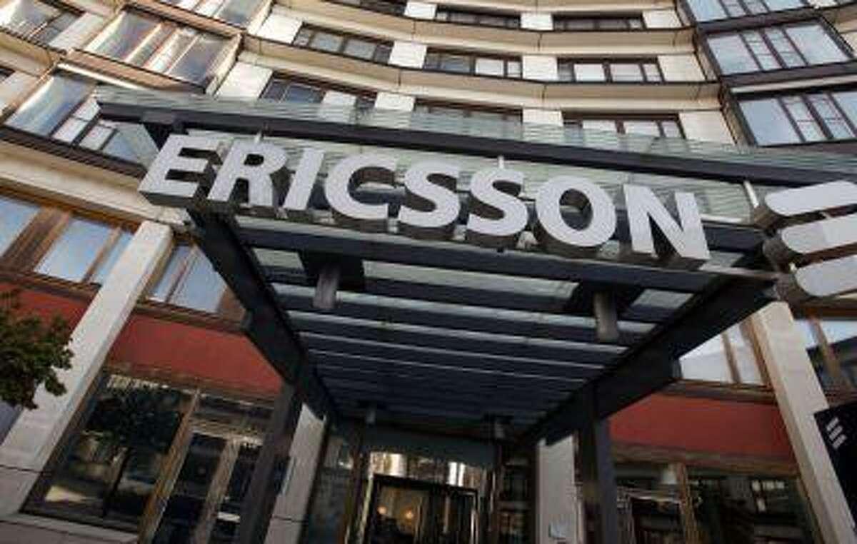 The exterior of Ericsson's headquarters in Stockholm.