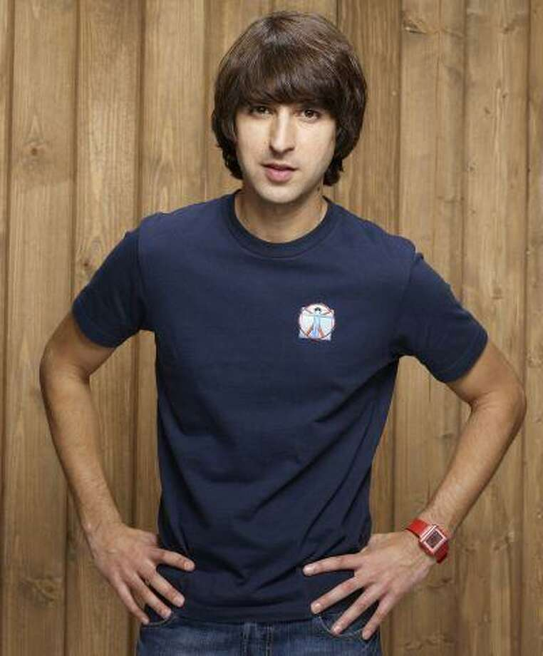 "Demetri Martin started integrating easel drawings into his stand-up and his two-season Comedy Central series, ""Important Things With Demetri Martin."" His new ""Point Your Face at This"" is 250-plus pages of Martin's simple line drawings. (Photo credit: Comedy Central) Photo: THE WASHINGTON POST / THE WASHINGTON POST"