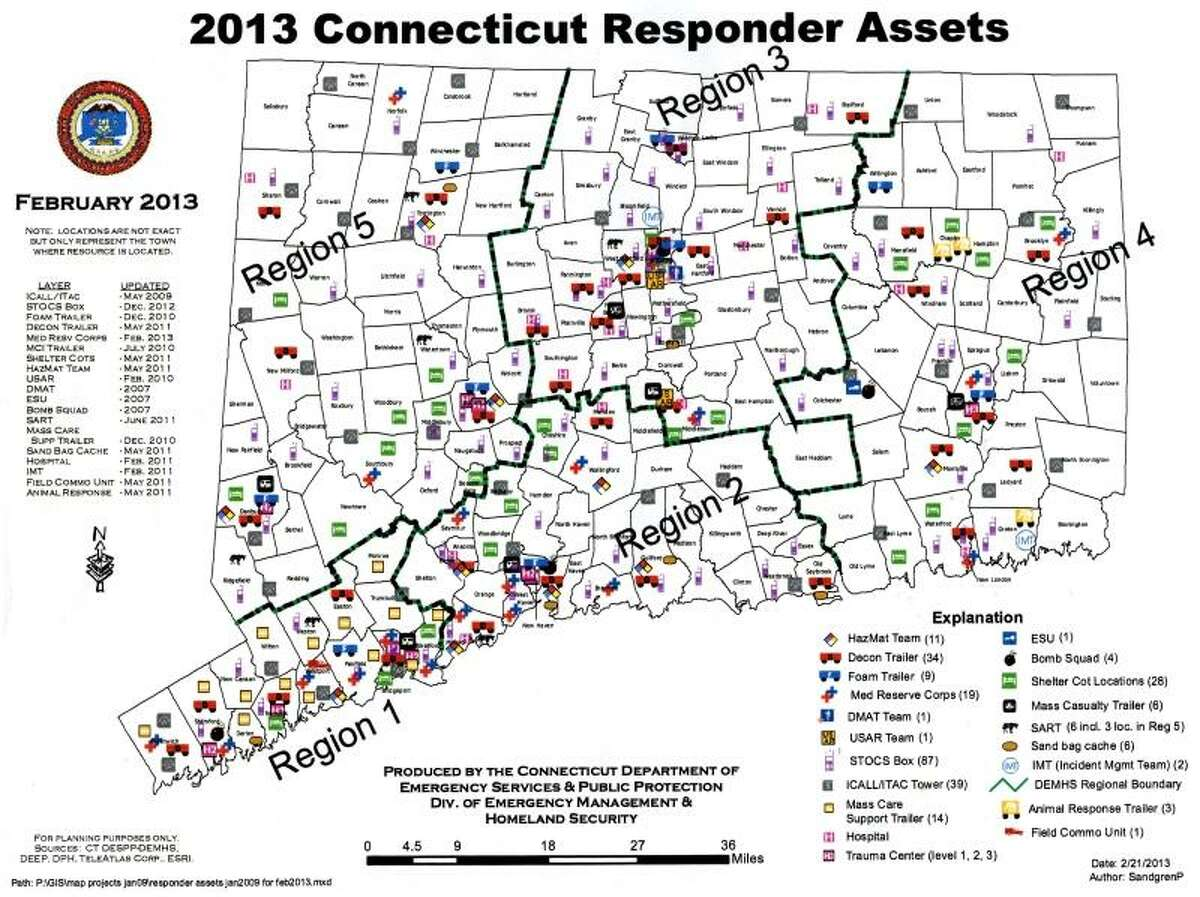 Photo provided -- 2013 Connecticut Responder Assets