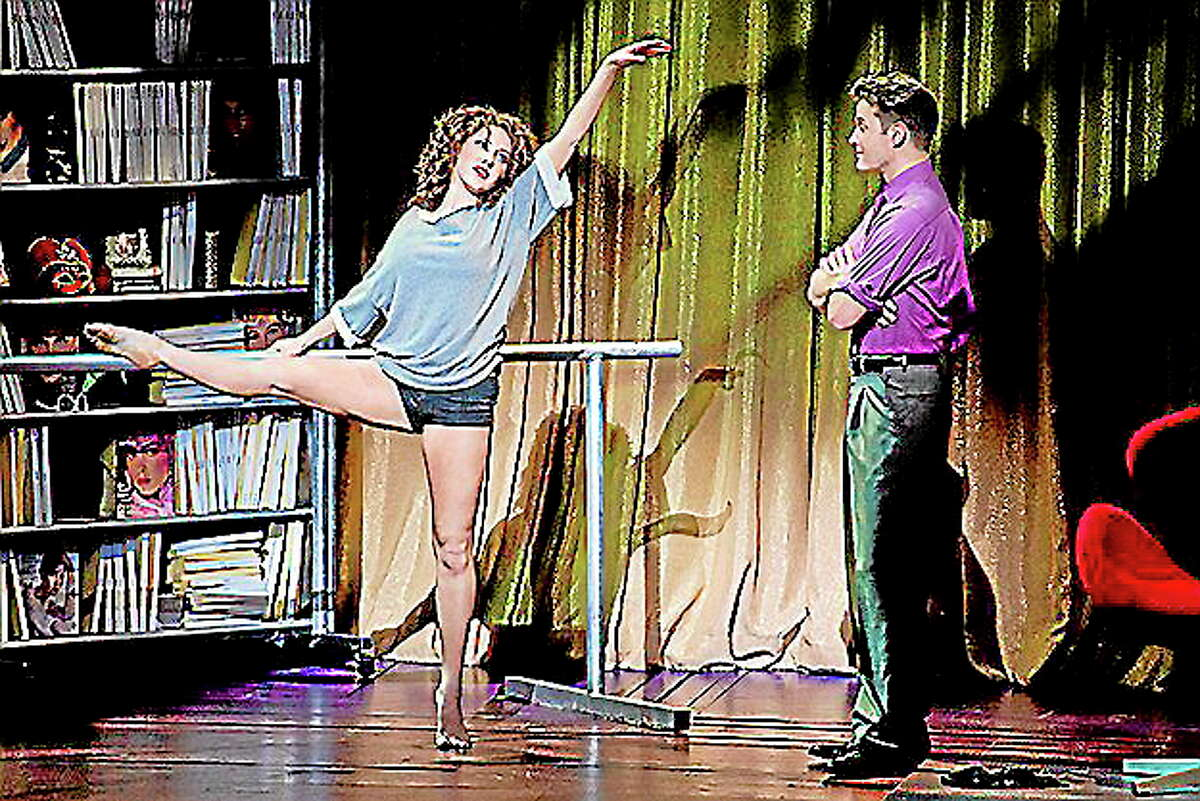 Submitted photo - Jeremy Daniel Jillian Mueller as Alex Owens and Matthew Hydzik as Nick Hurley in Flashdance the Musical, being staged at the Bushnell in Hartford.