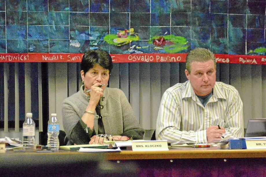 Torrington schools Superintendent Cheryl Kloczko and Board of Education Chair Ken Traub Photo: Register Citizen File Photo