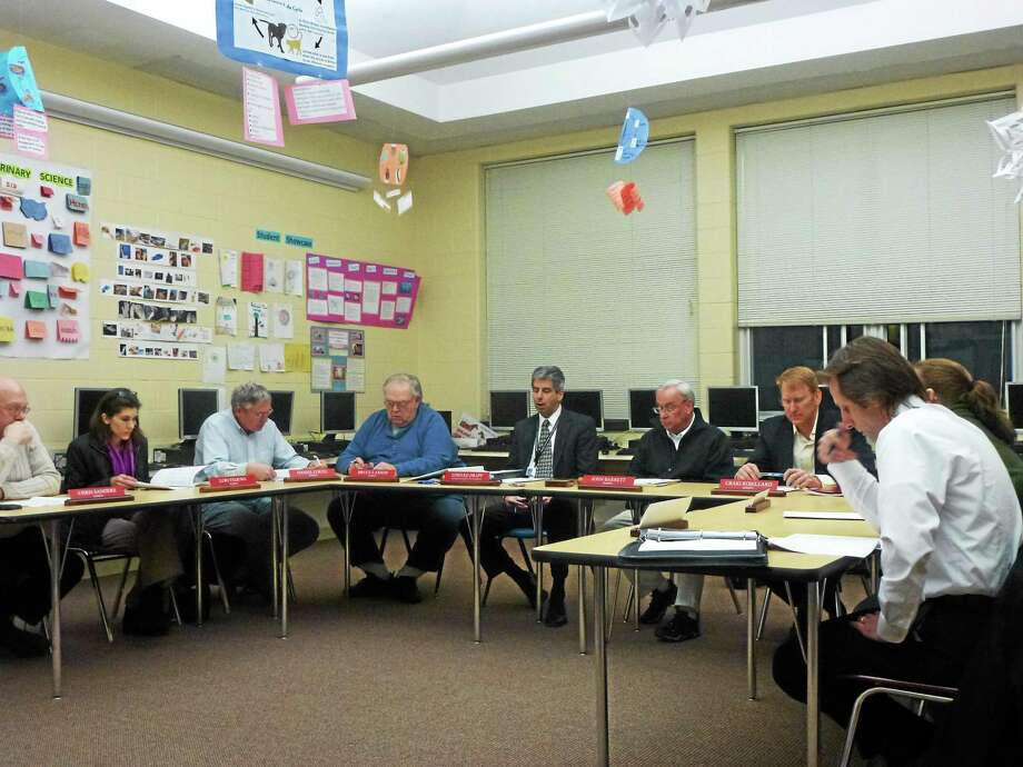 Moving a Spanish position at the elementary school to the high school was one sticking points during a special budget meeting of the Region 6 Board of Education Monday night, where Superintendent Edward Drapp's recommended spending plan was well-received. Photo: Ryan Flynn — Register Citizen
