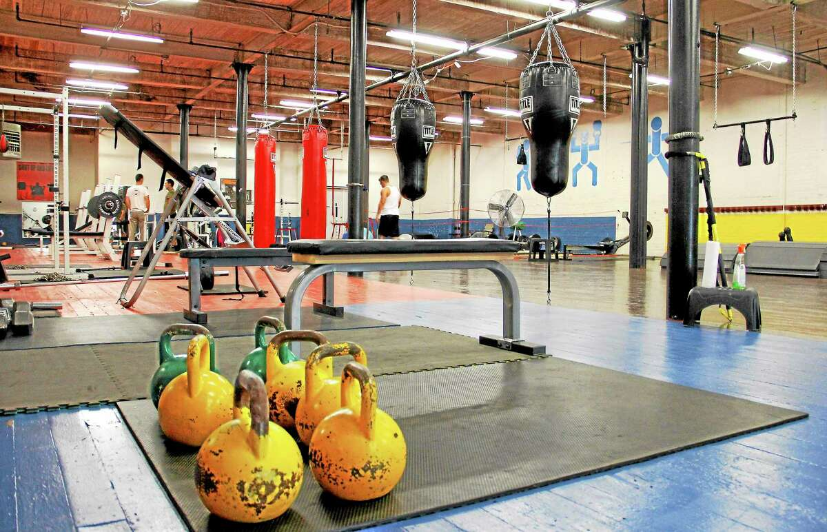 Inside the Fitness Pantheon on Tuesday, Oct. 15, on Water St. in Torrington. The gym is opening under new tenants after housing a recreational center focused on fencing. Esteban L. Hernandez Register Citizen
