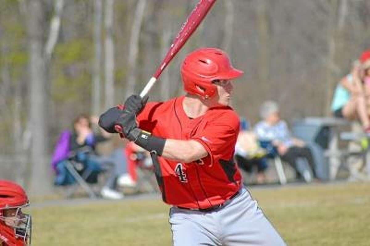 Northwestern's Zach Risedorf helped lead Northwestern to the Class M baseball finals. Pete Paguaga-Register Citizen