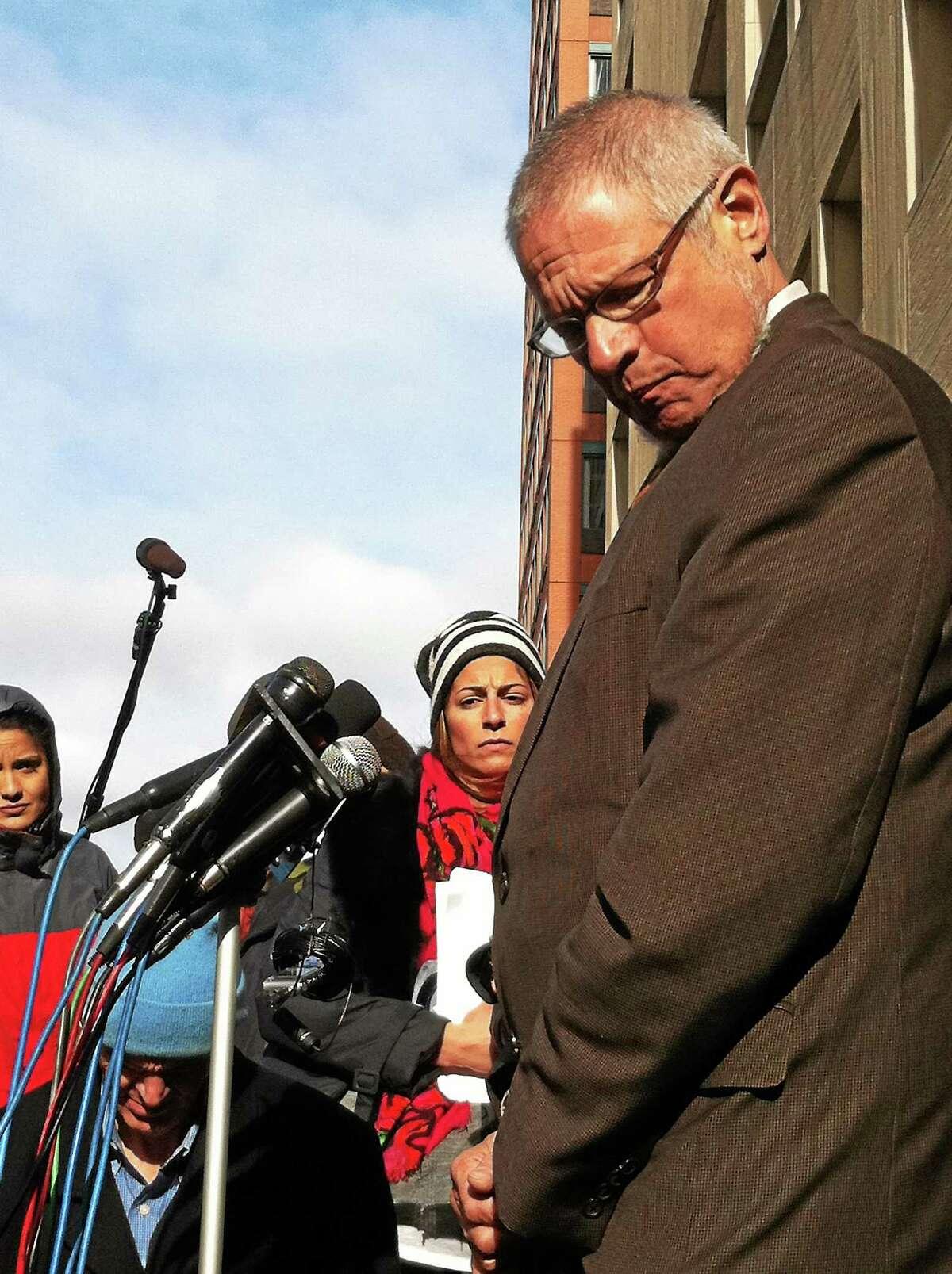 File photo: New Haven Chief Public Defender Thomas Ullmann