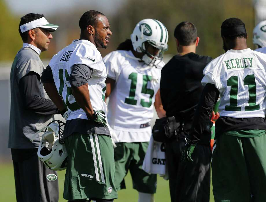 New York Jets receiver Percy Harvin (16) practices Monday in Florham Park, N.J. Photo: Rich Schultz — The Associated Press  / FR27227 AP