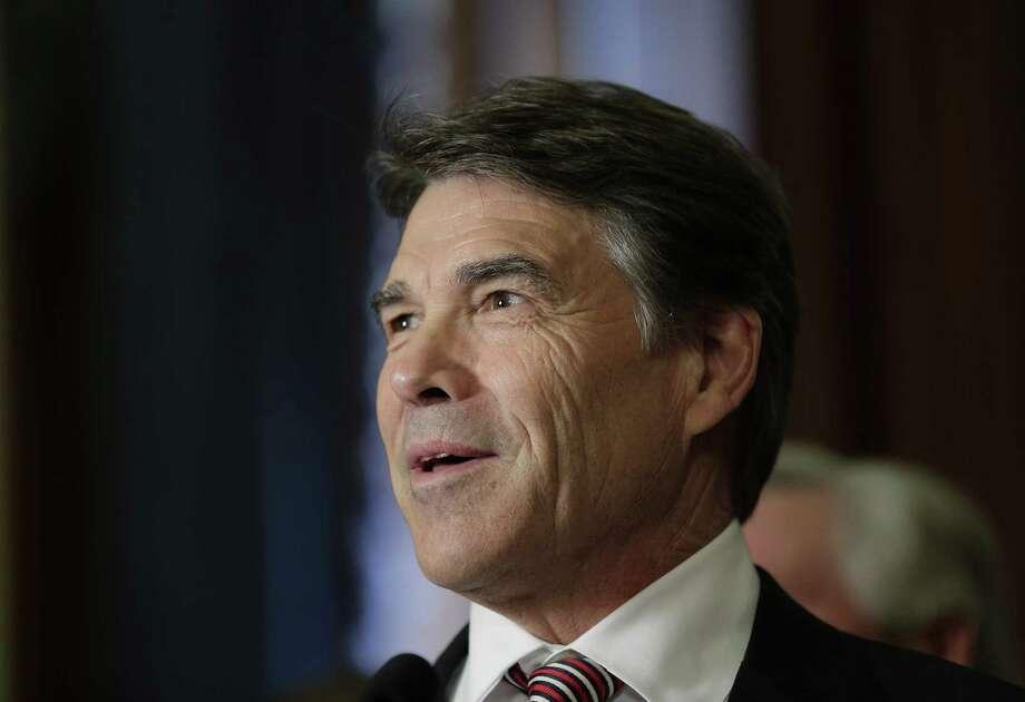 Gov. Rick Perry. (AP Photo/Eric Gay) Photo: ASSOCIATED PRESS / AP2013