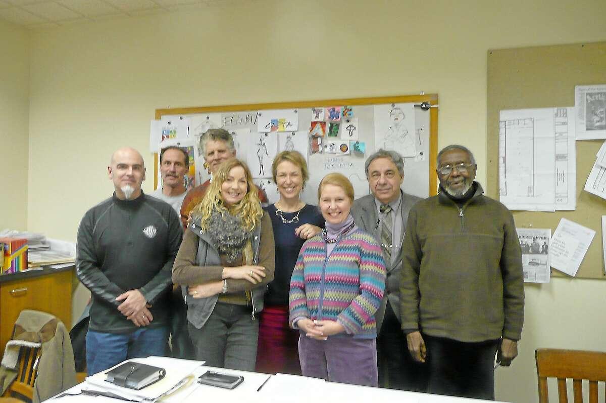 CAFTA executive director Teresa Graham-Sullivan, center left, with the organization's board of directors in a file photo.