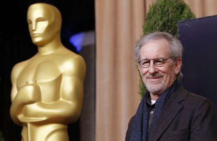 """Director Steven Spielberg, nominated for best picture and best director for """"Lincoln"""", arrives  at the 85th Academy Awards nominees luncheon in Beverly Hills, California February 4, 2013. REUTERS/Mario Anzuoni (UNITED STATES - Tags: ENTERTAINMENT) Photo: REUTERS / X90045"""