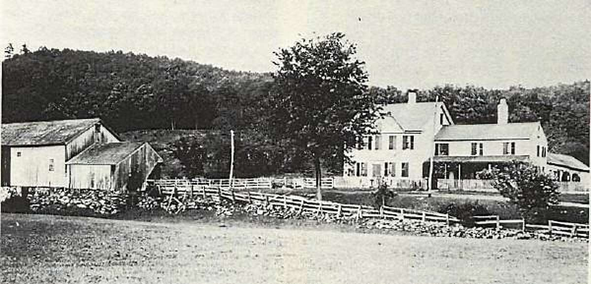 Submitted photo. Photo of Squire's Tavern from around 1920 when the property was occupied by the Ullmann family, the last farming family to live there before it became part of People's Forest.