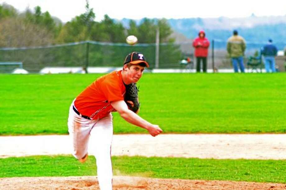 Pete Paguaga/Register Citizen  Taylor Donofrio will be playing for the Terryville American Legion team this summer.