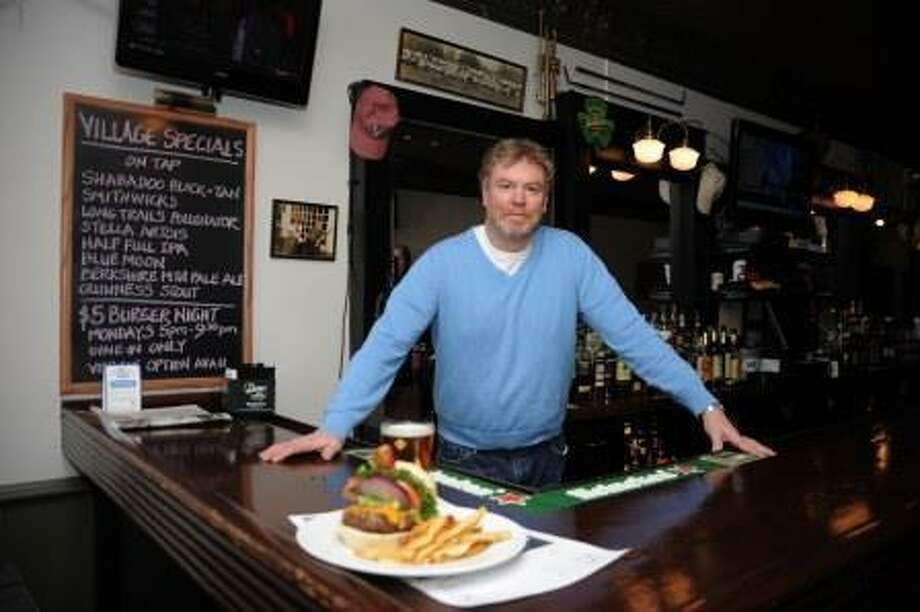 Dave Vigeant, one of the Village Restaurant's owners.