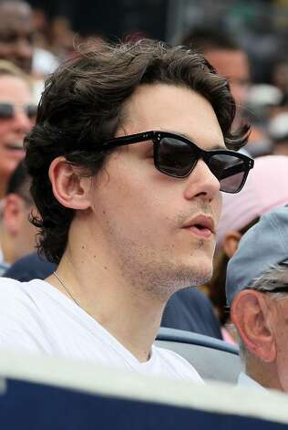 NEW YORK - JUNE 20:  Musician John Mayer attends the game between the New York Yankees and the New York Mets on June 20, 2010 at Yankee Stadium in the Bronx borough of New York City.  (Photo by Jim McIsaac/Getty Images) *** Local Caption *** John Mayer Photo: Jim McIsaac, Getty Images / 2010 Getty Images
