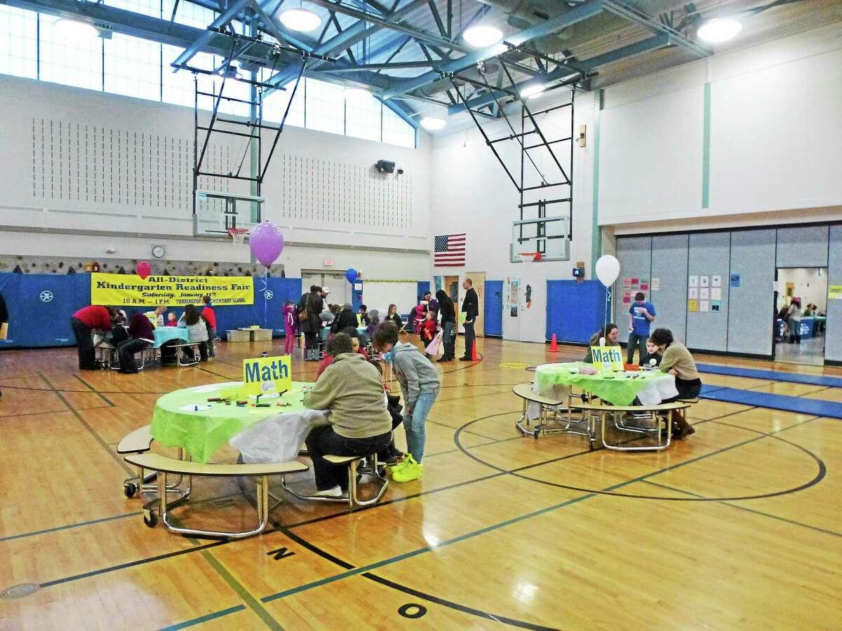 Ryan Flynn - Register Citizen The Kindergarten Readiness Fair was created as part of Torrington's Early Childhood Collaborative.