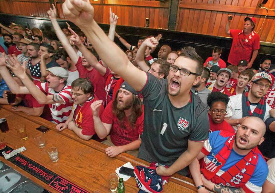 Members of the U.S. soccer team have been buoyed by the big turnout by their fans during this World Cup. Photo: The Associated Press  / Detroit News