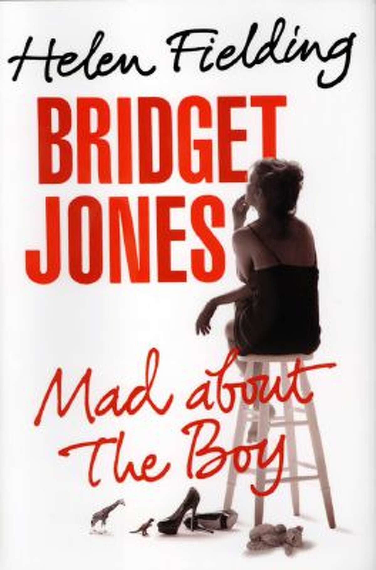 """This book cover image released by Alfred A. Knopf shows """"Bridget Jones: Mad About the Boy,"""" by Helen Fielding."""