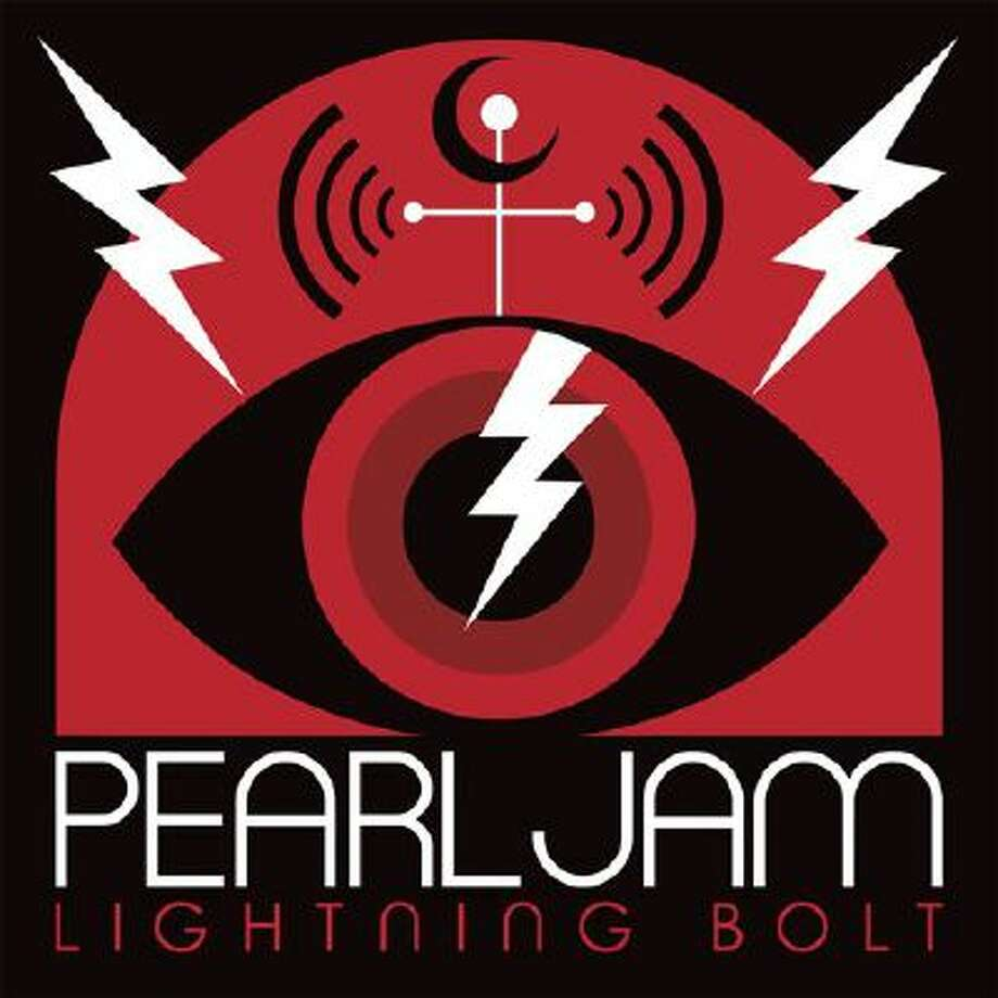 "This CD cover image released by Monkeywrench Records/Republic Records shows ""Lightning Bolt,"" the latest release by Pearl Jam. Photo: AP / Monkeywrench Records/Republic Re"