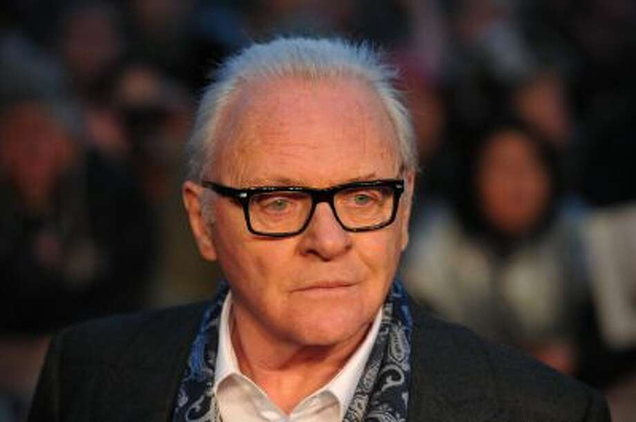 British actors Anthony Hopkins poses on the red carpet as he arrives for the UK film premiere of 'Hitchcock' in central London on December 9, 2012. Photo: AFP/Getty Images / 2012 AFP