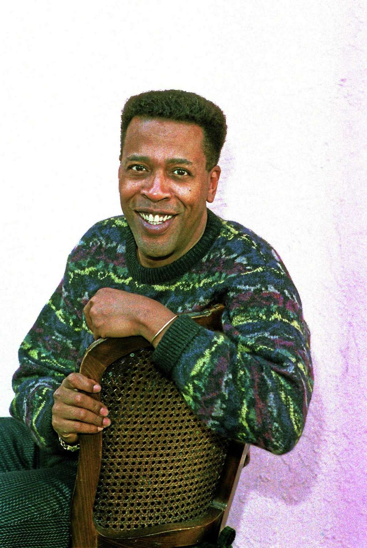 In this Jan. 30, 1989 photo, actor Meshach Taylor poses during an interview in Los Angeles.