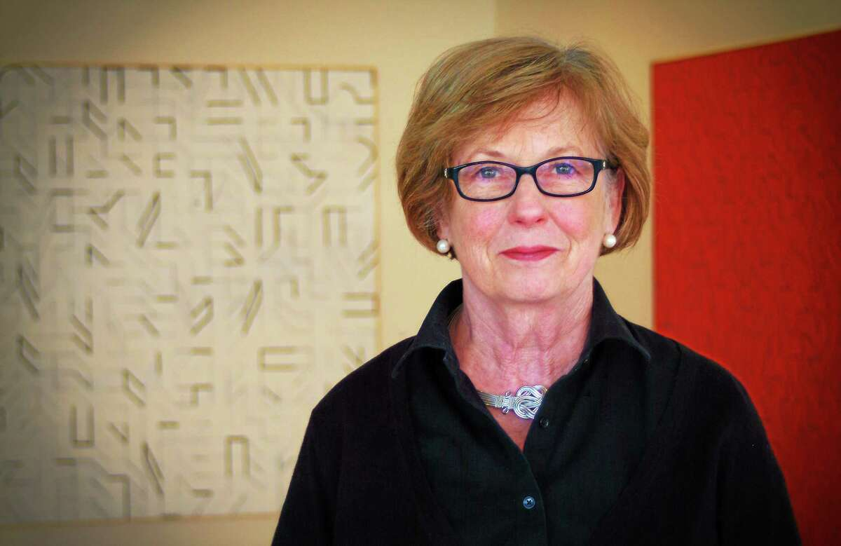 Judith McElhone, executive director at Five Points Gallery in Torrington.