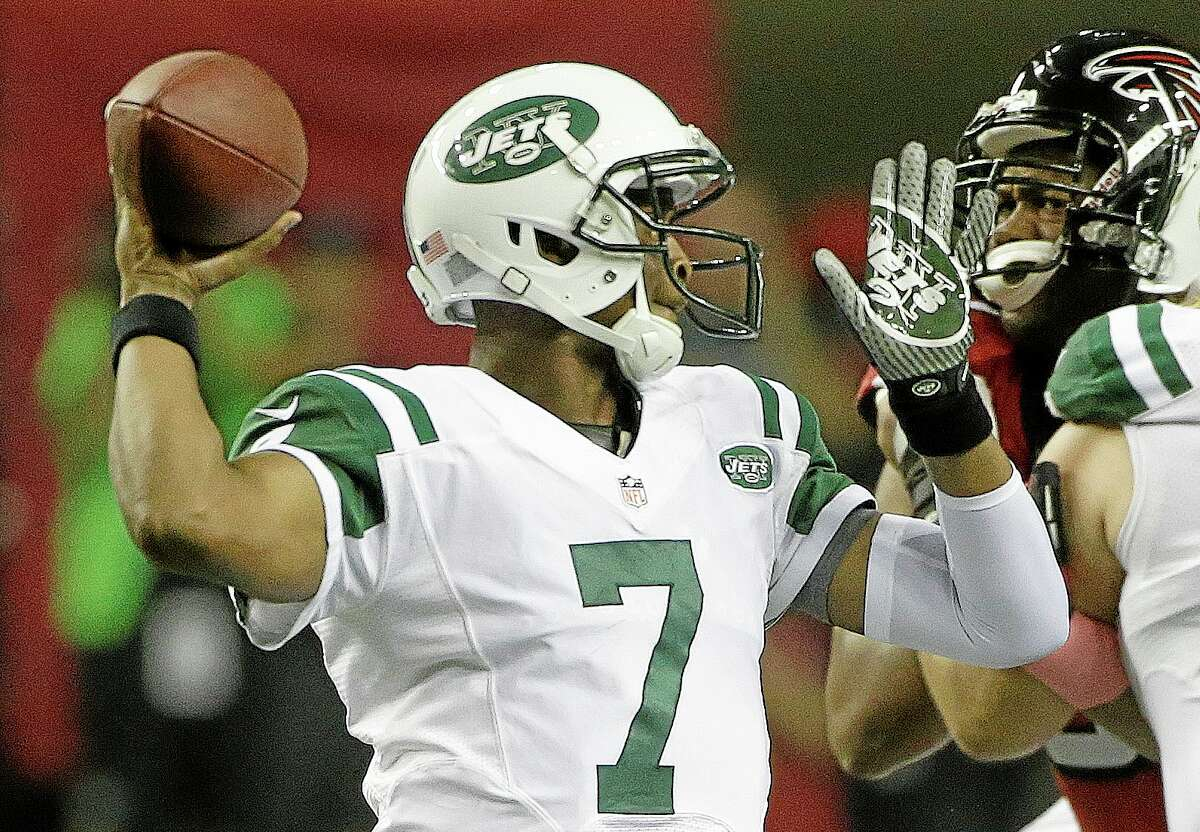 Jets quarterback Geno Smith.