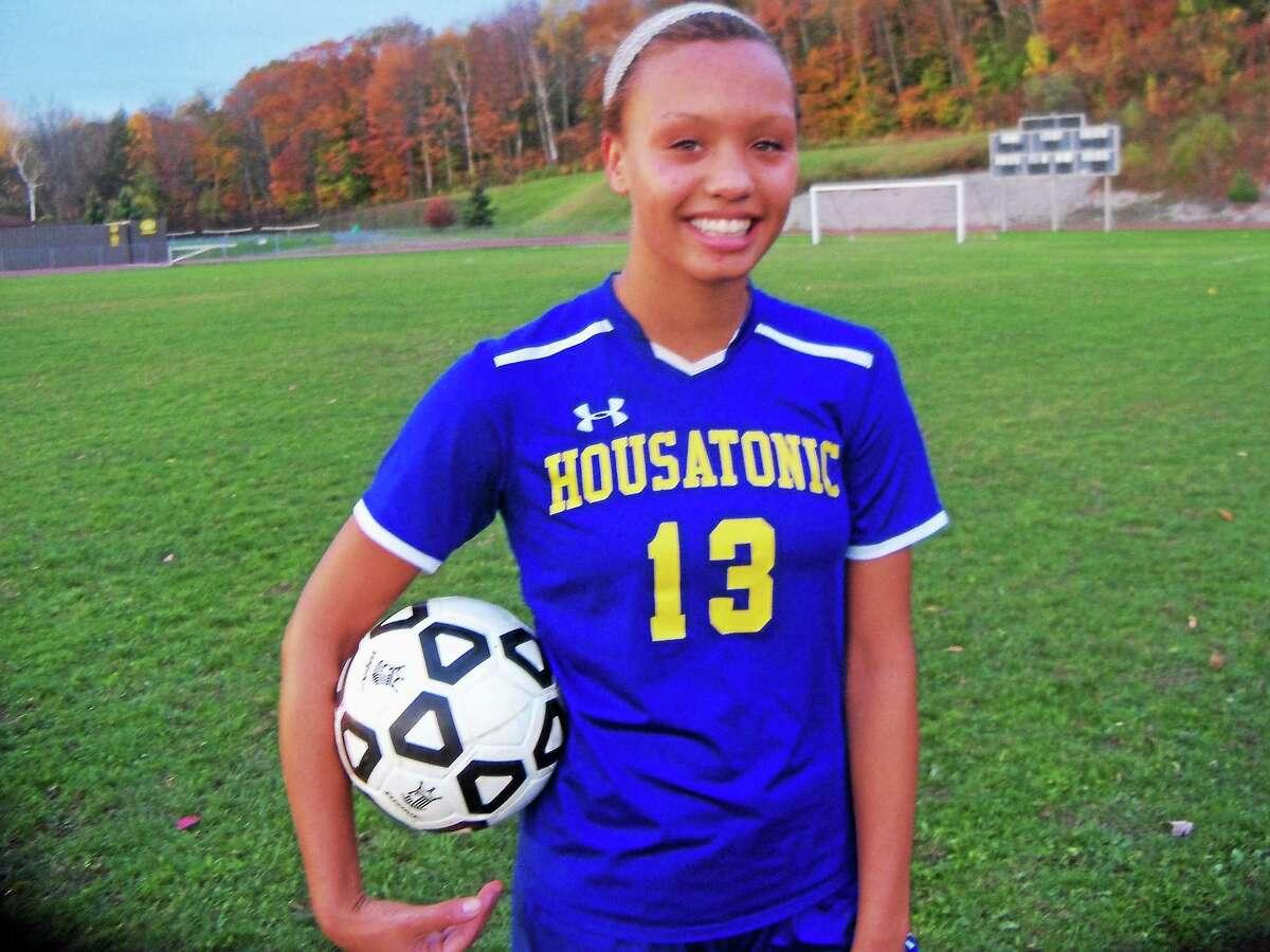 Housatonic's Lauren Segalla had 40 goals for the season as of Monday.