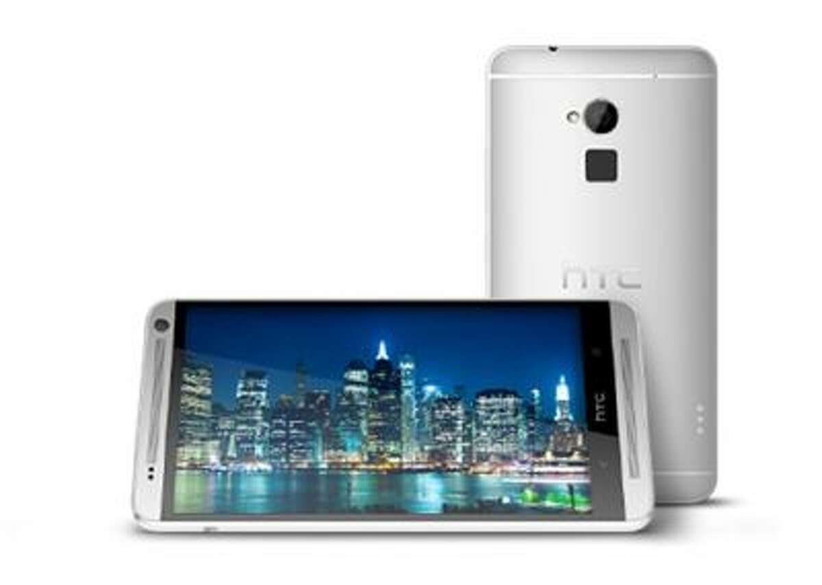 With its huge, 5.9-inch full HD screen, the device could prove a handful for some users. (Photo courtesy of HTC)
