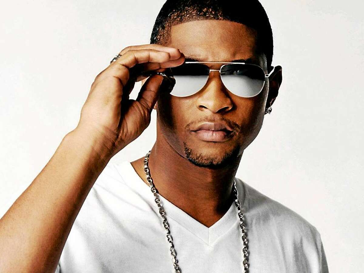 Submitted photo - Usher Global megastar Usher is set to perform at the Mohegan Sun Arena in Uncasville Friday, Nov. 14. He is now on a 27-city U.S. tour that is packed with an impressive repertoire of smash hits spanning his 20-year career. His show will include a fresh take on early and recent songs as well as new music from his anticipated forthcoming eighth studio album. For tickets or more information, call 860-862-8000 or visit www.mohegansun.com.