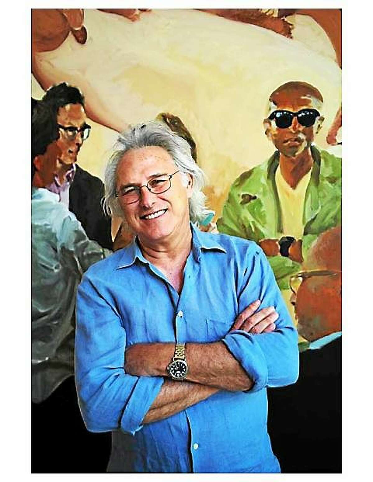 Photo courtesy of Five Points Gallery Five Points Gallery welcomes American painters Eric Fischl and Robert Berlind for a gallery talk Saturday, Nov. 1. The artists will discuss their work.
