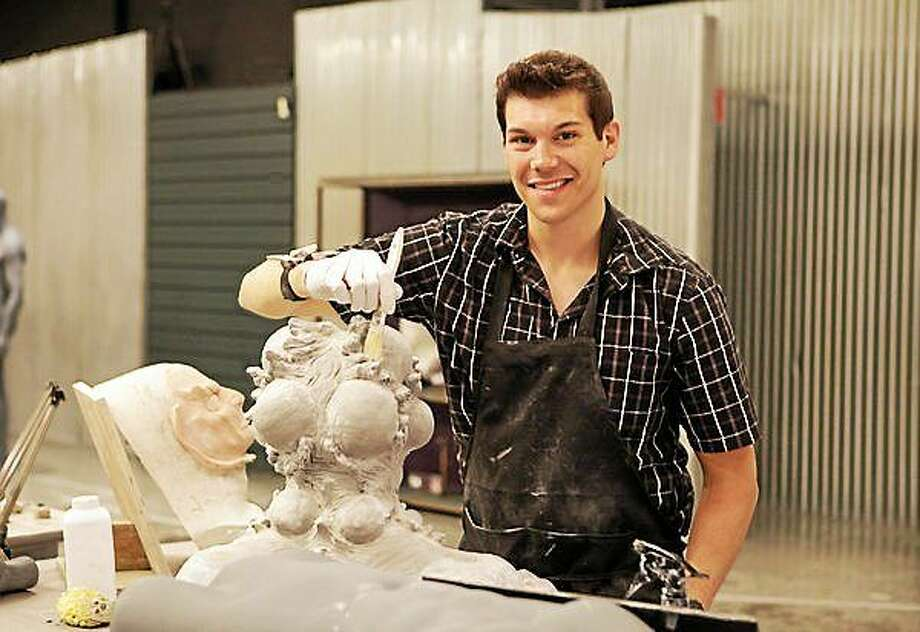Submitted photo SFX artist Tyler Green will give a master class Oct. 25 in the Nancy Marine Studio Theater at the Warner in Torrington. Photo: Journal Register Co.
