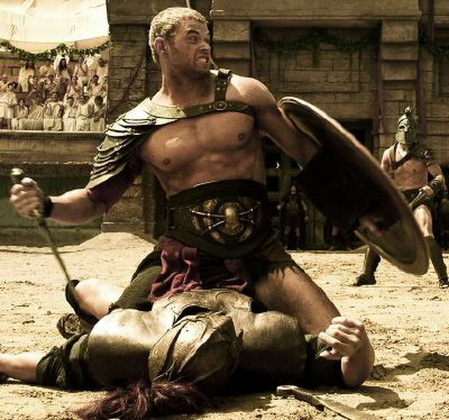 "Kellan Lutz stars as Hercules in ""The Legend of Hercules."" In the film, Hercules falls in love with a princess who is engaged to his evil borhter Iphicles played by Liam Garrigan."