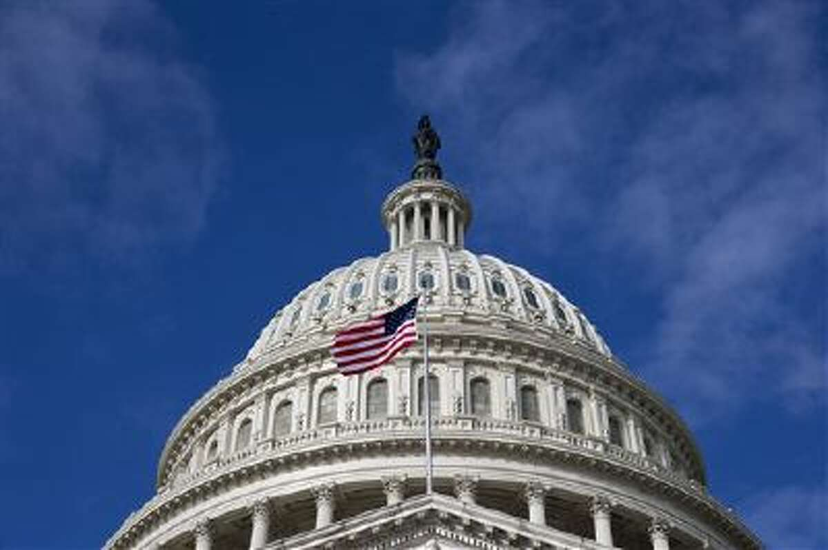 The dome of the U.S. Capitol is shown on Oct. 14.