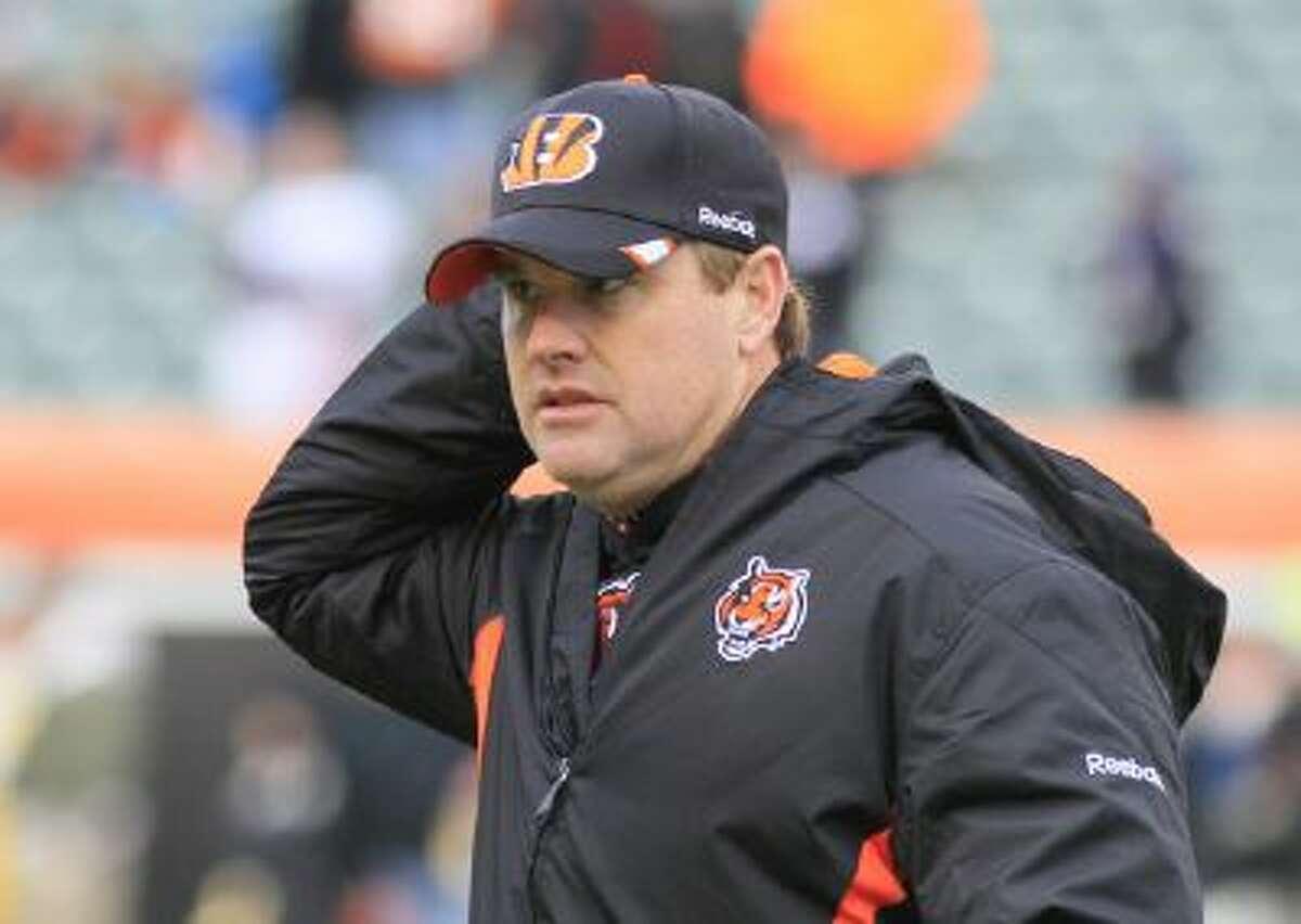 Jay Gruden, as the Cincinnati Bengals' offensive coordinator in 2012.