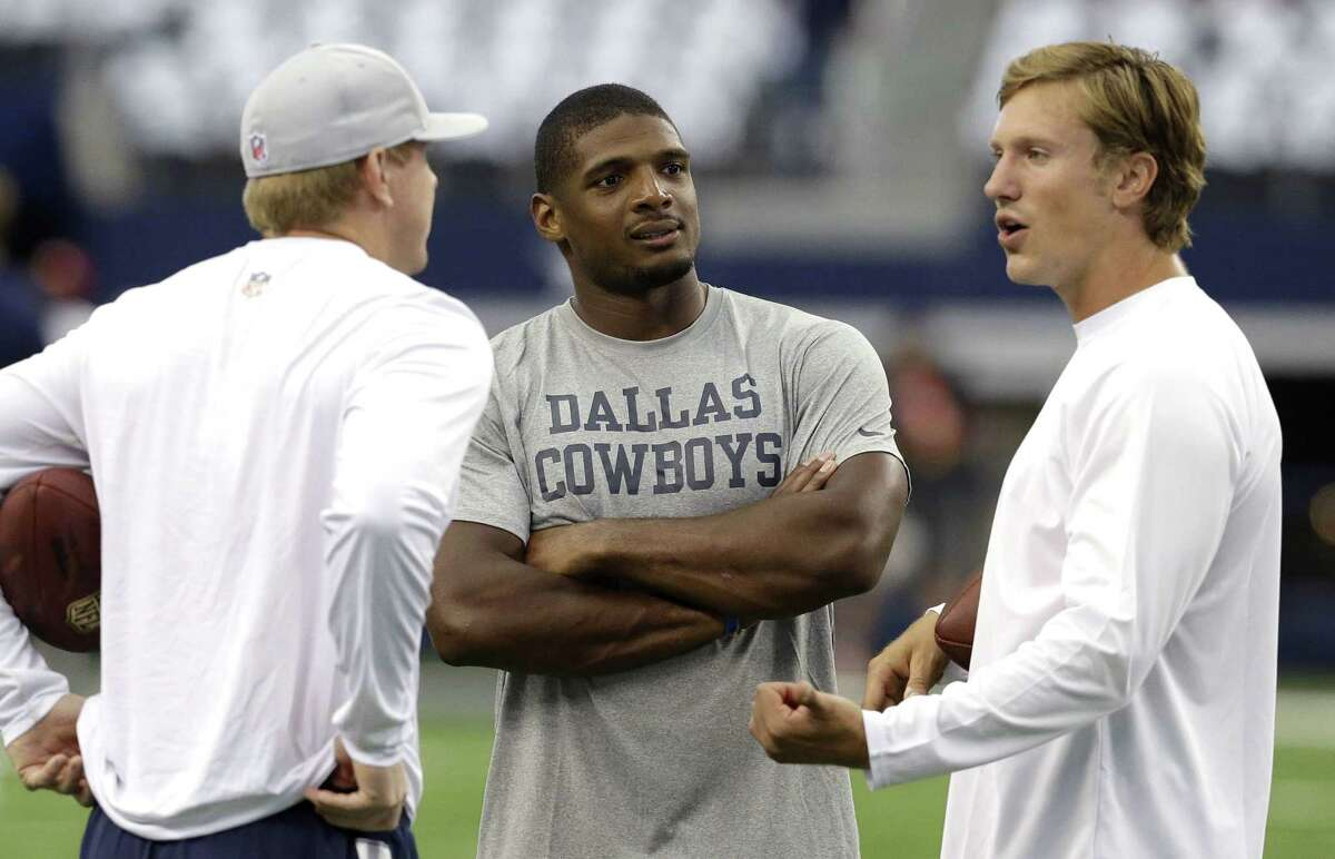 The Dallas Cowboys released Michael Sam from the practice squad.