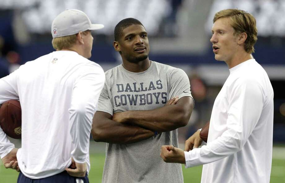The Dallas Cowboys released Michael Sam from the practice squad. Photo: LM Otero — The Associated Press File Photo  / AP