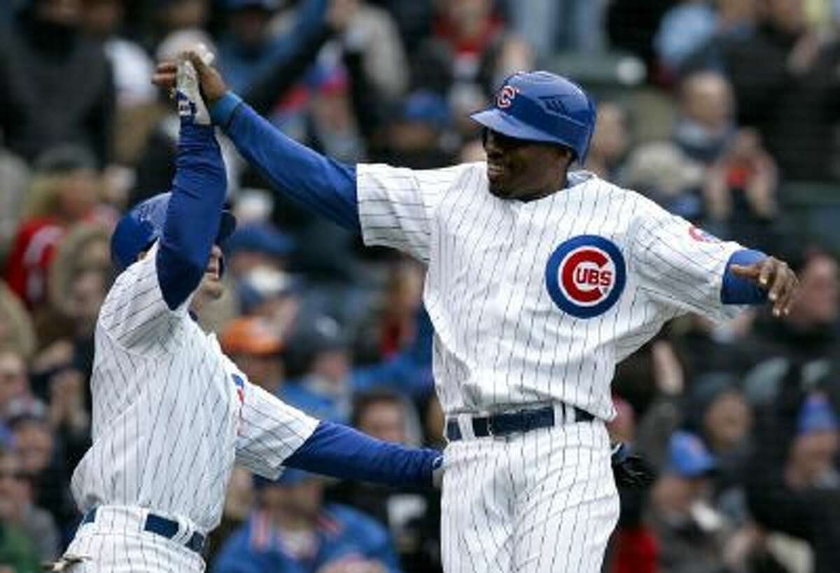 Yes, Jacque Jones (right) got a Hall of Fame vote. No, we don't know why, either.