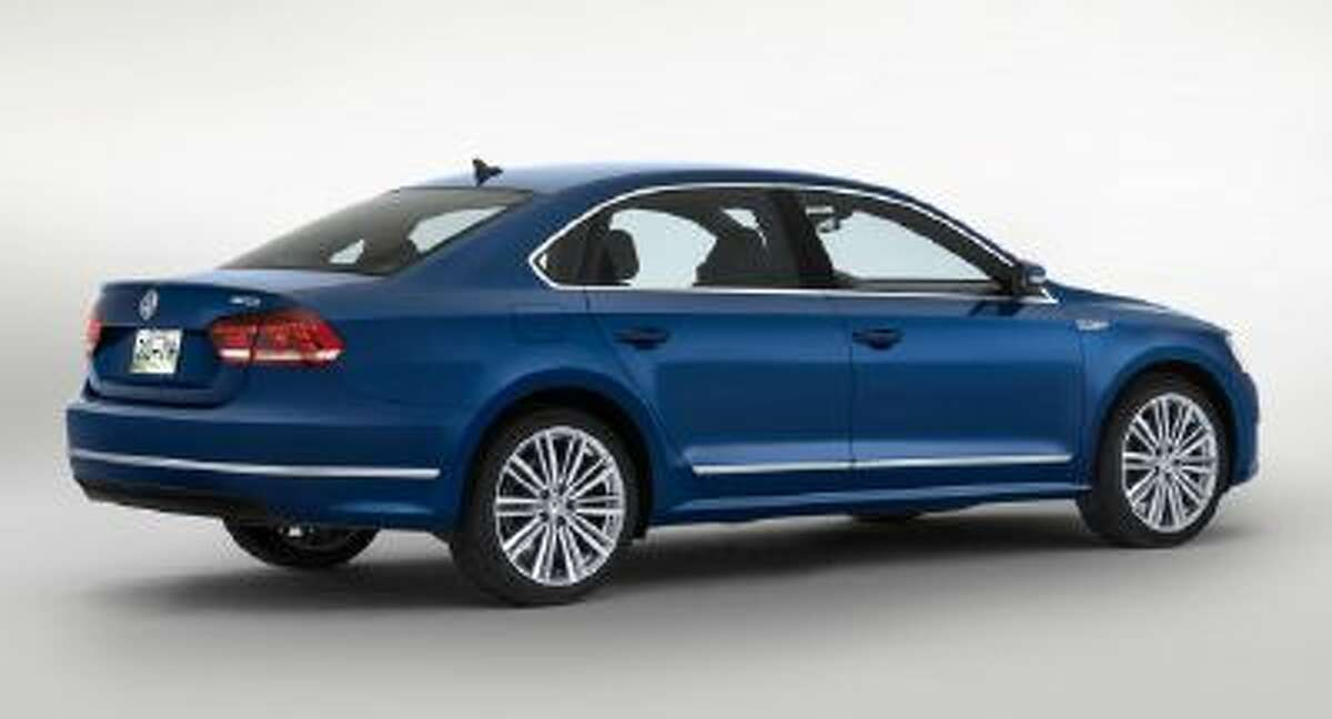 This undated product image provided by Volkswagen shows the Passat BlueMotion concept car.