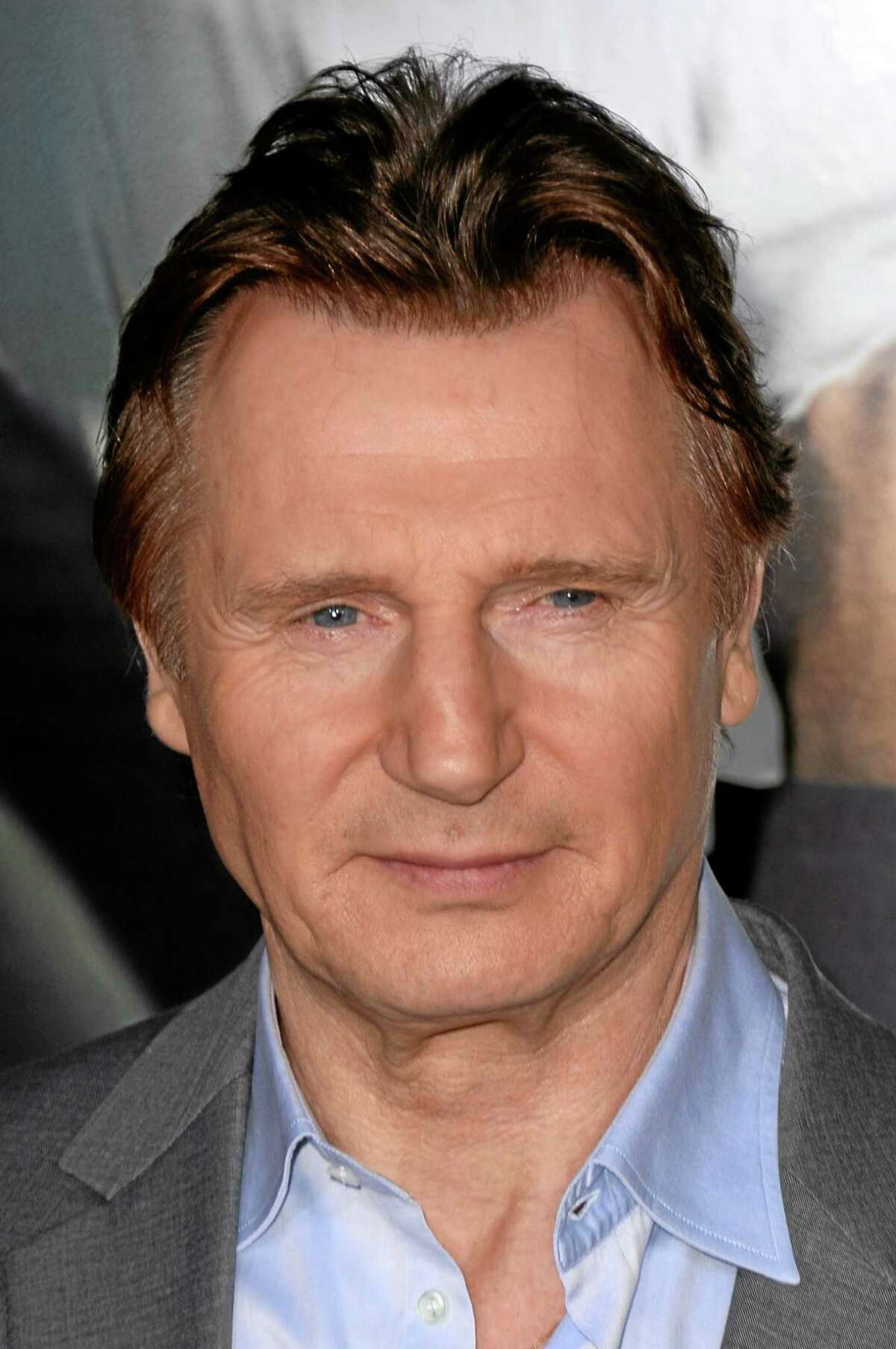 FILE - This Feb. 24, 2014 file photo shows Liam Neeson in Los Angeles.