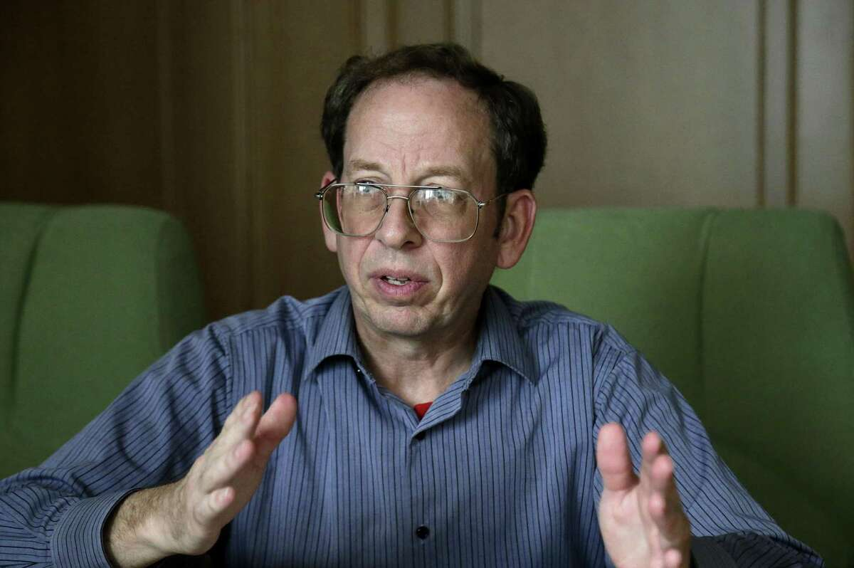 FILE - In this Sept. 1, 2014, file photo, Jeffrey Fowle, an American detained in North Korea speaks to the Associated Press in Pyongyang, North Korea. Fowle, one of three Americans being held in North Korea, has been released, the State Department said Tuesday, Oct. 21, 2014.