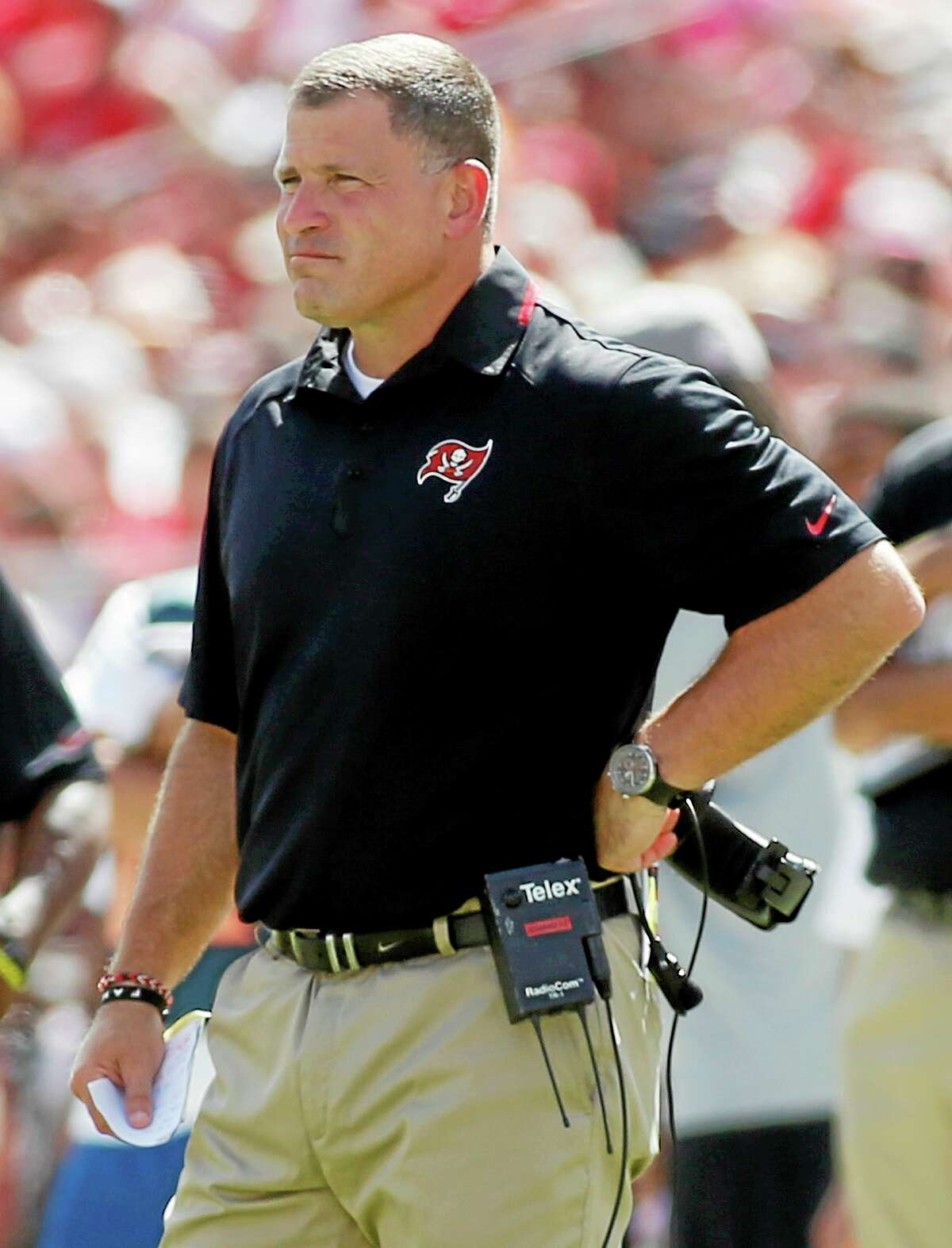 Head coach Greg Schiano and the Tampa Bay Buccaneers are dealing with the third case of MRSA to hit their team since August.