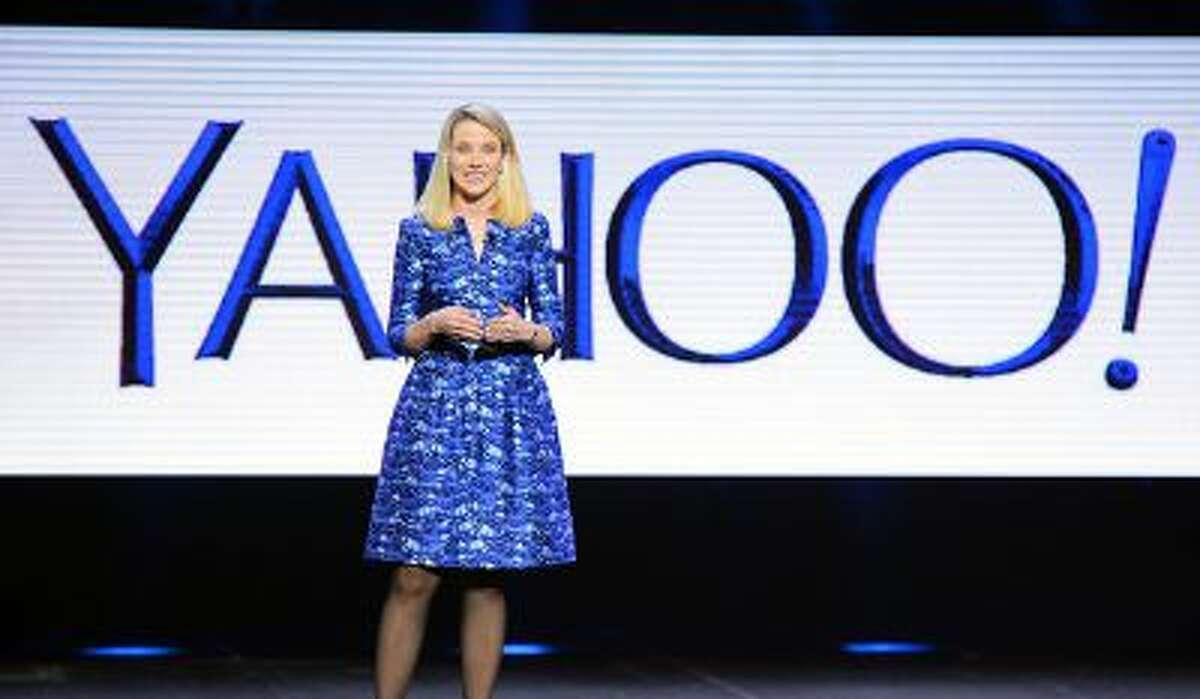 Yahoo President and CEO Marissa Mayer delivers a keynote address at the 2014 International CES at The Las Vegas Hotel & Casino on January 7, 2014 in Las Vegas.