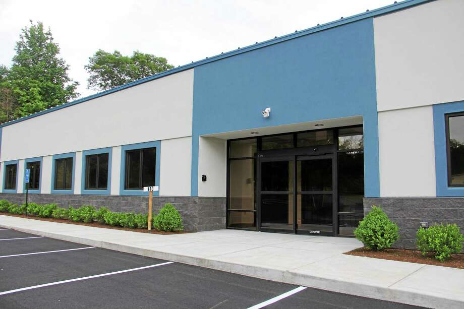 The facility that will house a methadone clinic on Commercial Boulevard in Torrington. The clinic will be opening by mid to late July. Photo: Esteban L. Hernandez — The Register Citizen