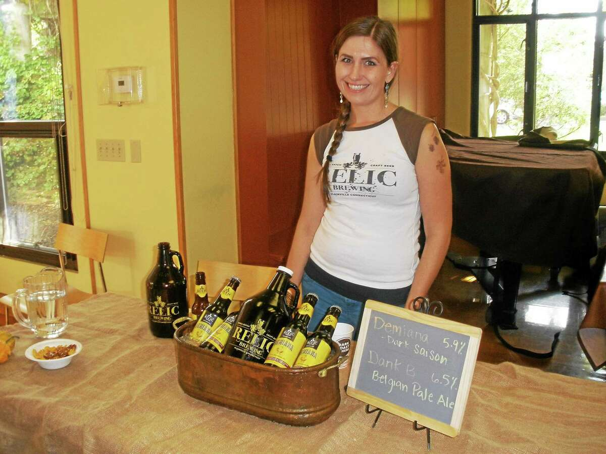 """The Harvest Bounty Wine and Brew Fest mission was simple: """"It's a low-key event and everybody could just talk, ask questions and enjoy good beer,"""" said P. Scott Vallely of the Charter Oak Brewery."""
