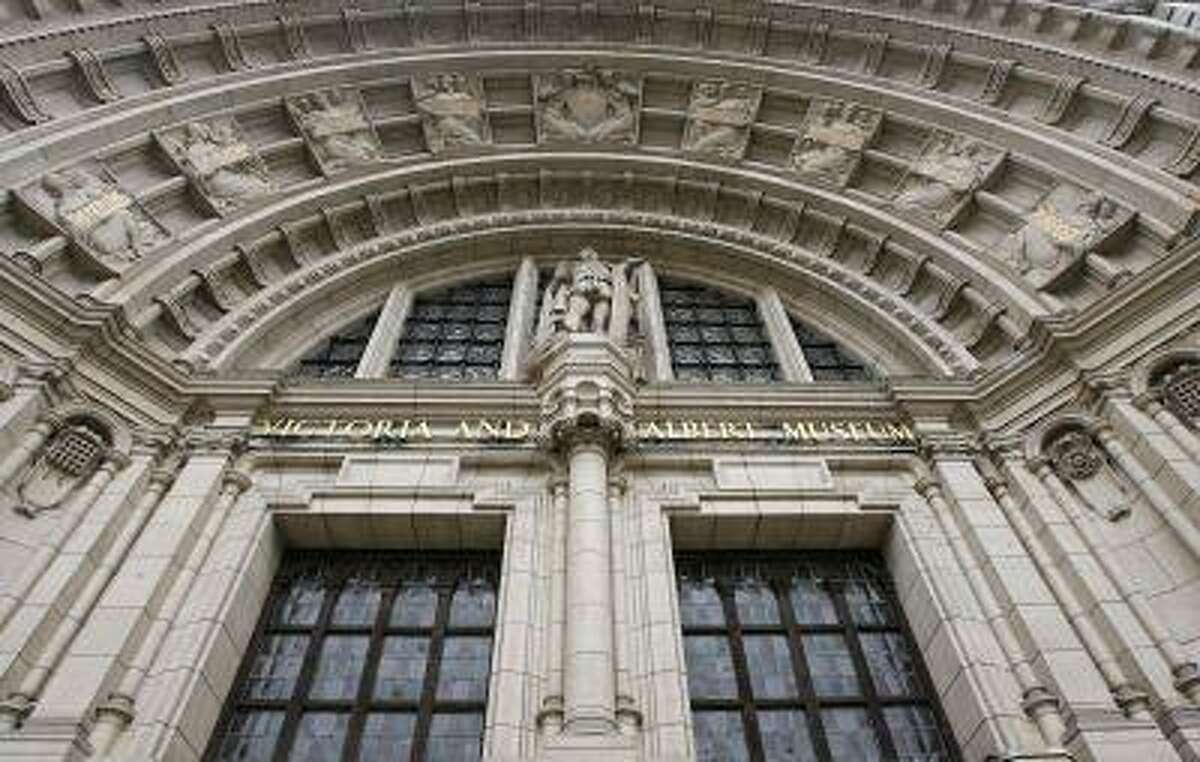 The main entrance of the Victoria and Albert (V&A) Museum is seen in London. (Reuters/Alessia Pierdomenico)